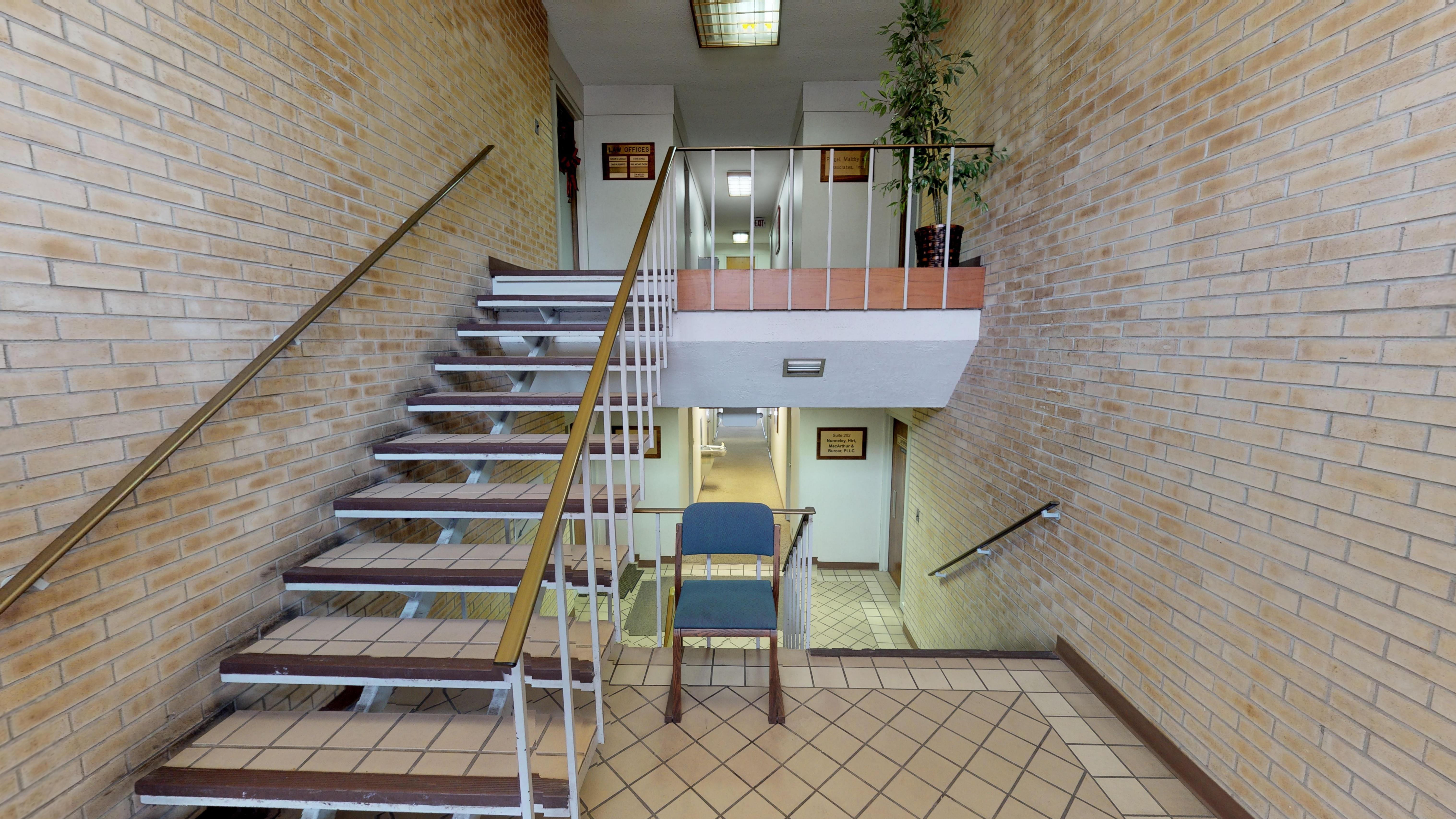 Hallway from Rear Door – Interior